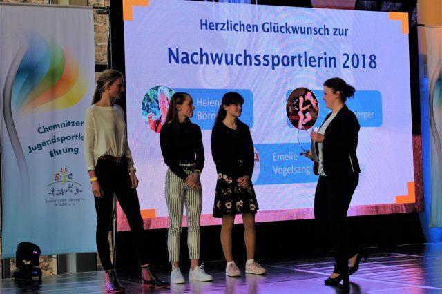 8. Chemnitzer Jugendsportler-Ehrung am 23.03.2019