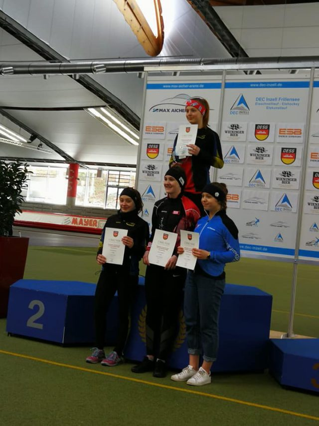 Deutschen Junioren-Cup am 29.02.-01.03.2020 in Inzell