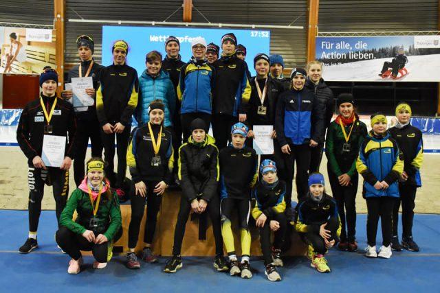 Offene Thüringer Meisterschaften am 22.02.2020 in Erfurt